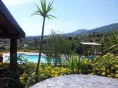 Bed and breakfast au vignoble, l'Etna et sa nature: the pool corner.