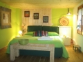 Bed and Breakfast in der Innenstadt von Zafferana, Green room: green.